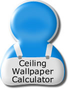 ceiling wallpaper calculator
